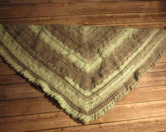 Puget Sound Waves Shawl