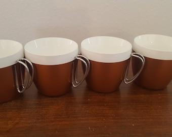 NFC Plastic Mugs - Set of 4