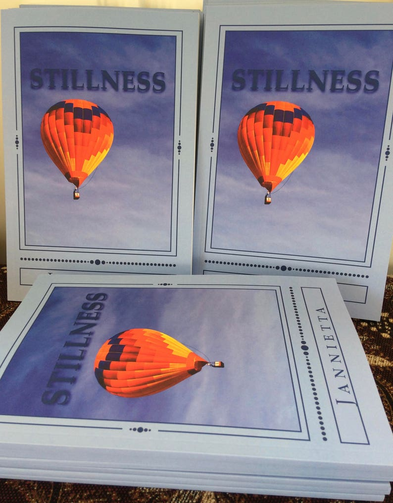 Stillness Poetry book by Jannietta image 0