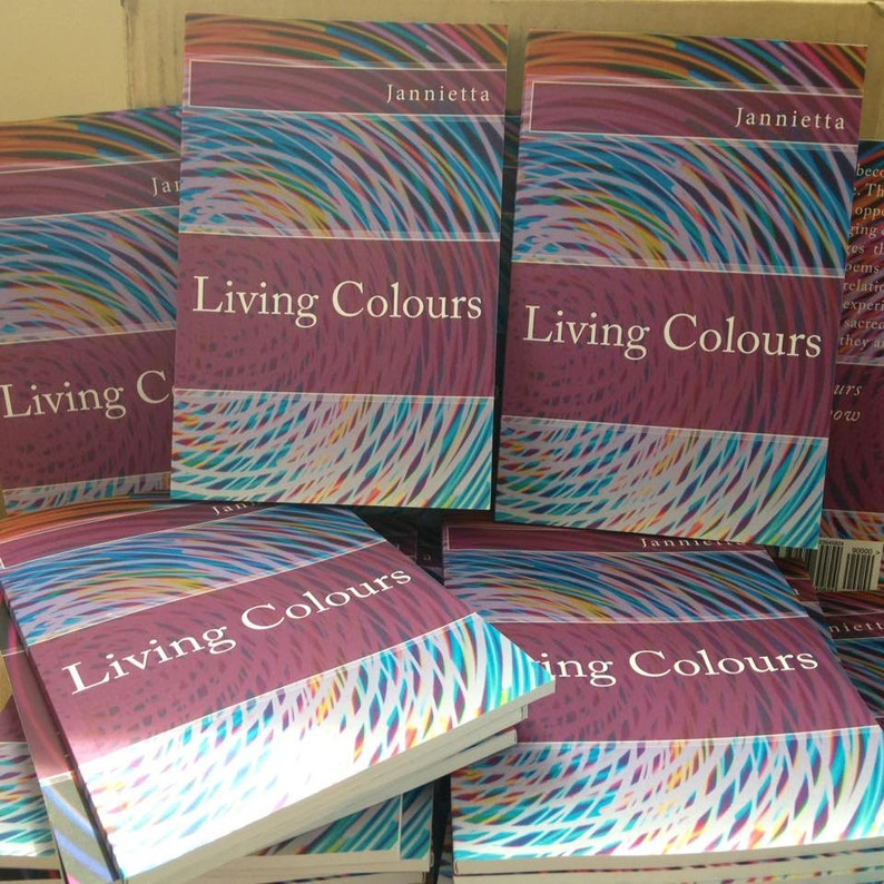 Living Colours Poetry Book by Jannietta image 0