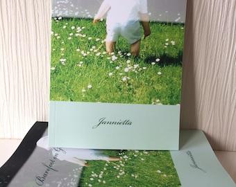 Poetry Book, 'Barefoot on Green Grass' by Jannietta