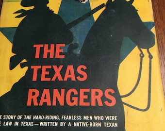 1952 The Real Book about The Texas Rangers