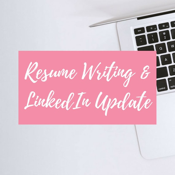 resume writing linkedin profile update free resume etsy