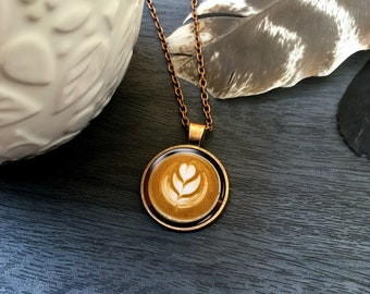 gold Coffee Bean Necklace Layering Necklace Jewelry for Coffee Lover Gift Gold vermeil coffee Dainty Necklace Coffee Necklace