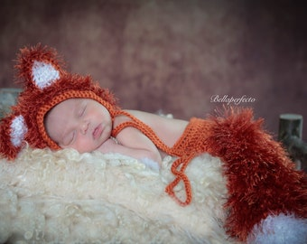 Baby Fox Costume | Baby Halloween Costume | Forest Friends Baby Shower | Baby Animal Costume | Woodland Baby Shower | Lost Boys Costume