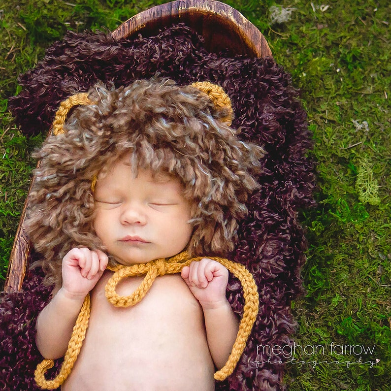 e8580b532 Baby Lion Costume Baby Boy Halloween Costume Newborn Lion | Etsy