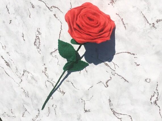 Christbaumkugeln Rose.Felt Flowers Felt Rose Gifts For Her Faux Flower Arrangement Flowers For Her Floral Decor Romantic Gift Home Decor Artificial Flower