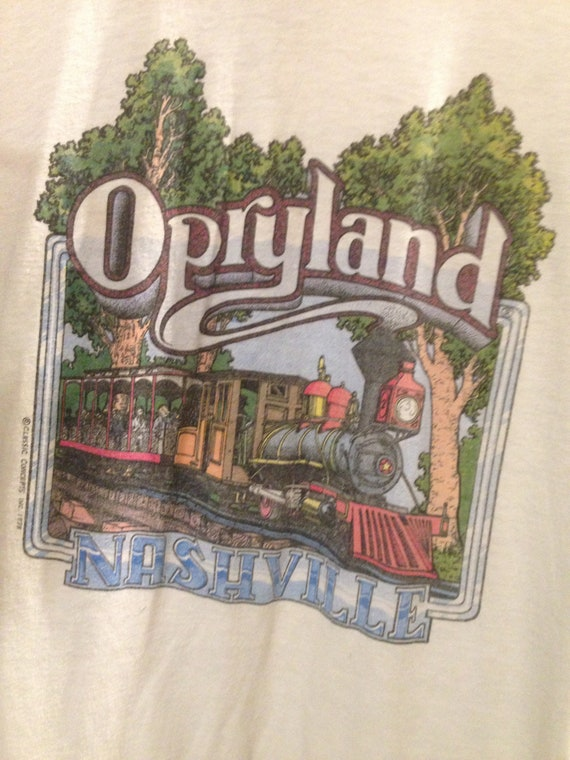 Grand Ole Opry Ringer Shirt, Opryland, Nashville Tennessee, Country,  Western, Cowboy, Vintage