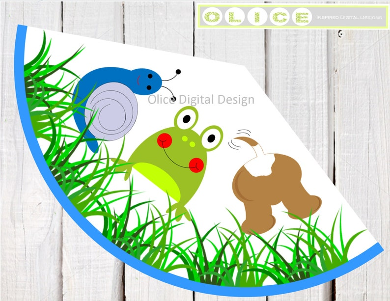 Frog Hat Snails Puppy Dog Tails Birthday Party