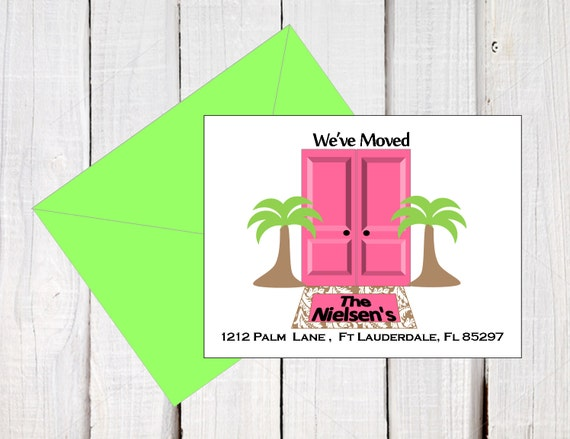 New Address Announcement We Ve Moved New Address Post Cards
