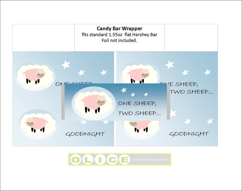 Baby Lamb party printables pack wrappers napkin rings picks baby sheep invitation baby shower,1st birthday pink printable banner