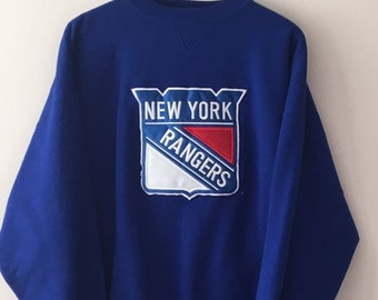 a99be9c57 New York Rangers Brandon Sportswear Sweatshirt Blue XXL