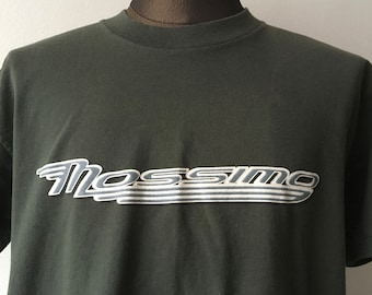 c3640e88 Mossimo Limited Edition Graphic T Shirt Green Size Medium Made in the USA  90s Grunge