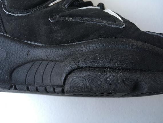 Nike Air Uptempo 1994 schwarz weiß Basketball Schuhe Größe 10 Scottie Pippen