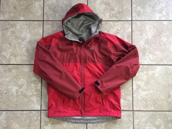 und Schicht rotbraundie Größe Nike Jacke äußere ACG rot Small OuPkTwZXil