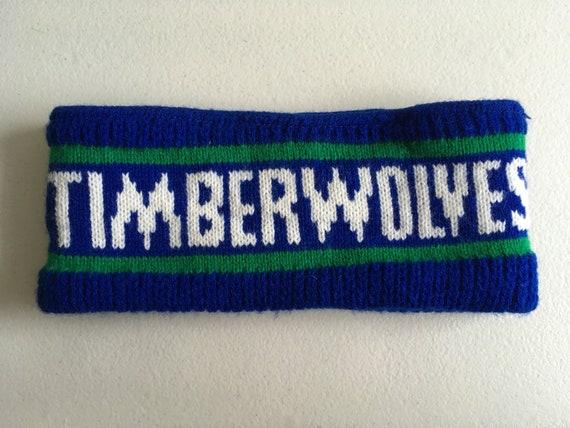 Minnesota Timberwolves Coca Cola Ear Band 90 S Blue Green Etsy