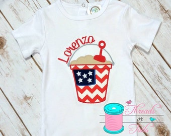 4th of July shirt, Fourth of July applique, 4th of July Applique Shirt, Patriotic Shirt, Patriotic Applique Shirt