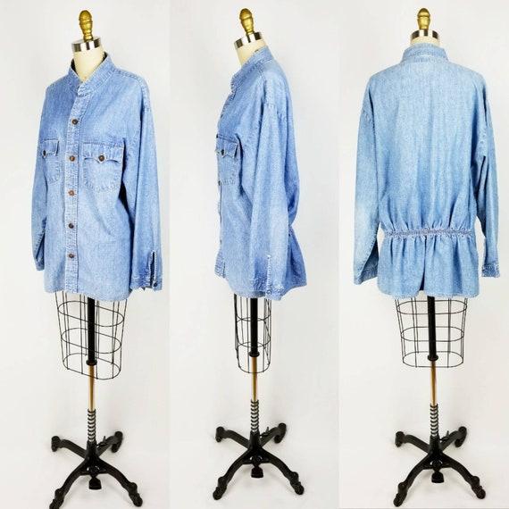 Vintage 70s Levis denim jacket /shirt xl