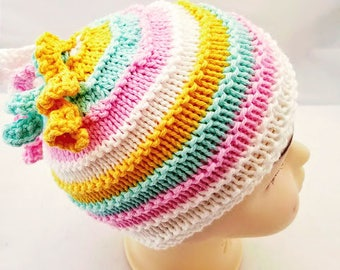 c452c81dd39 Easter Egg Beanie - Easter Hat with Tassel - Pastel Spring Beanie - Baby  Girl Easter Hat - Baby Easter Bonnet - Baby Hat with Tassel