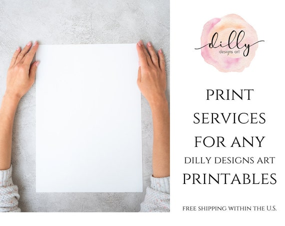 Print and Ship Your Choice of Artwork, Choose Your Printable To Ship, Free Shipping Within The US, Archival Matte, Canvas Artboard, Gifting