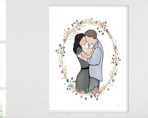 Parents Holding Twins, Memorial Art, Religious Art, Religious Drawing, Religious Painting, Twin Babies, Gone But Not Forgotten, Loss of Twin