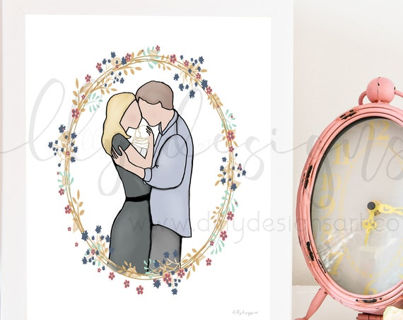 Loss of Baby Gift, Pregnancy Loss, Baby Loss, Infant Loss, Memorial Art, Memorial Decor, Funeral Gift, Funeral Art, Child Loss, Condolence