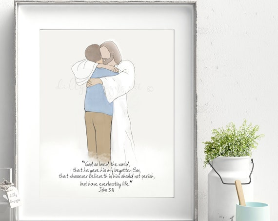 Memorial, Loss of Husband, Loss of Son, Death of Husband, Grief Gift, Grief Printable, Funeral Printable, Funeral Program, Everlasting Life