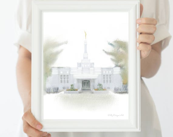 Columbia Temple, South Carolina Temple, Columbia South Carolina, Columbia LDS Temple, LDS Temple, South Carolina, Columbia, Sealing Gift