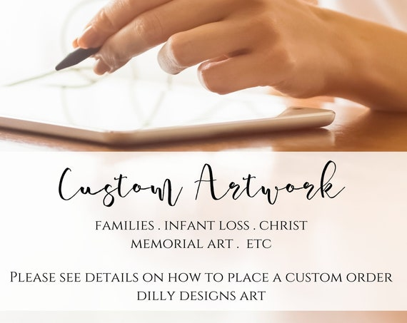 Custom Artwork - Edit Printables & Create New Artwork From Dilly Designs Art - By Kamie
