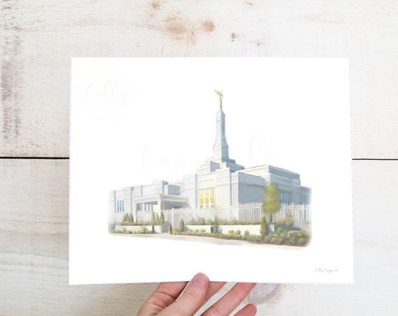 Louiseville Kentucky, Kentucky Temple, Louiseville Latter Day Saints, Church of Jesus Christ, Temple Artwork, Temple Printables, Temple Art