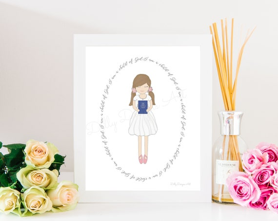 Baptism Gift, LDS Baptism Gift, Great To Be Eight, Great To Be 8, LDS Baptism, Mormon Baptism, Mormon Baptism Gift, LDS Wall Art, Wall Art