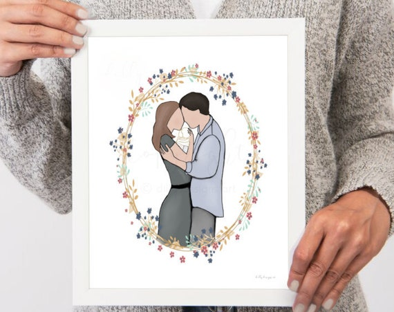 Couple With Angel Baby, Sids, Miscarriage, Infant Loss, Baby Loss, Stillborn, Stillbirth, Angel Memorial, Baby Memorial, Infant Memorial