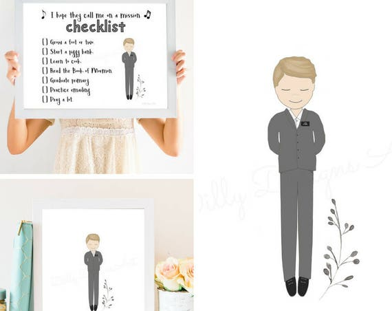 LDS Primary Printables, LDS Primary,  Bundle, Future Missionary, I Want To Be A Missionary, Missionary Gift, Primary Checklist, Sharing Time