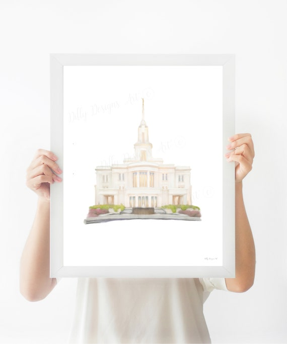 Payson Temple, Payson Utah Temple, LDS Temples, Church of Jesus Christ, LDS Art, LDS Printables, Church Art, Church Printables, Payson Utah