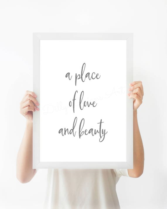 Love, Beauty, Hymn, Hymn Printable, Love Printable, Beauty Printable, Love Sign, Love Wall Art, LDS Hymn, LDS Sign, LDS Signs, Lds Printable