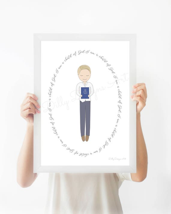 Great To Be 8, Great To Be Eight, LDS Baptism Gift, Baptism Gift Boy, LDS Baptism, Book of Mormon, Mormon Baptism, Lds Primary, Baptism, LDS