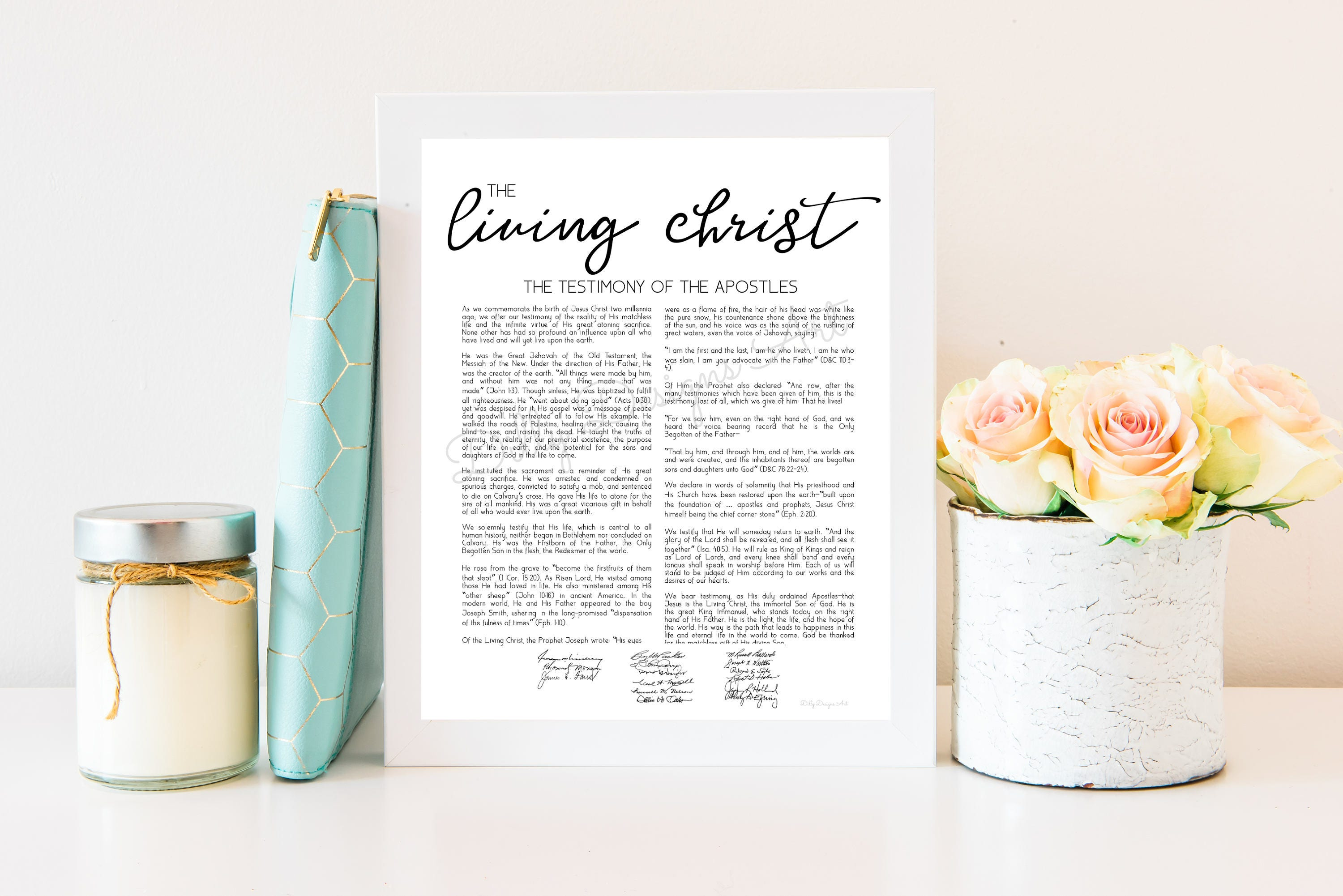 picture about The Living Christ Free Printable named Residing Christ, The Dwelling Christ, Dwelling Christ Indicator, Residing