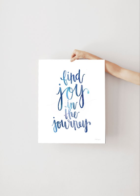 Find Joy In The Journey, Find Joy, Calligraphy, Joy Sign, Journey Sign, Journey Printable, Calligraphy Sign, Sign Printable, Inspirational