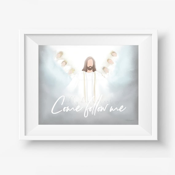 Come Follow Me, The Church, Church of Jesus, Jesus Christ, The Church 2019, Jesus Christ Art, The Church Art, The Church Printables, Primary