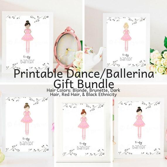 Dance Team Gift, Ballerina Gift, Dancer Gift, Dance Gift, Ballerina, Dancer, Tiny Dancer, Ballet Gift, Tutu, Pink Tutu, Tiny Ballerina, Gift