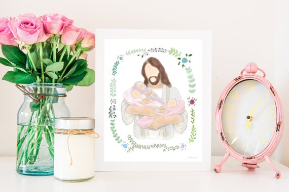 Angel Babies, Angels, Remembrance, Remembrance Gift, Infant Loss, Child Loss, Twin Loss, Triplet, Triplet Loss, Christ Holding Babies, Jesus