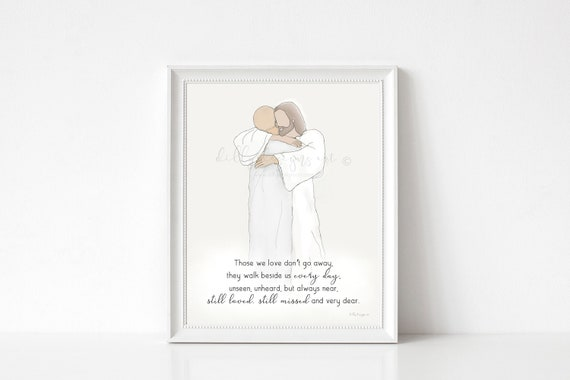 Bereavement Gift, Funeral Gift, Cancer, Cancer Loss, Funeral Art, Sympathy Gift, Sympathy Art, Christ Art, Christian Art, Christian Gift