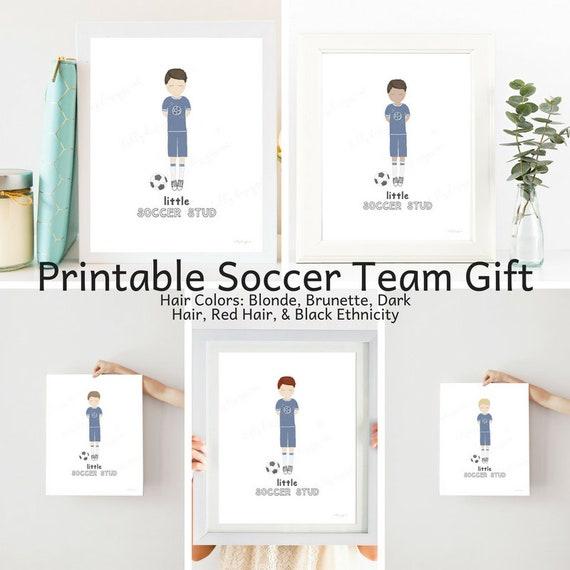 Printable Bundle, Soccer Team Gift, Soccer Team, Soccer Gift, Soccer Mom, Soccer Stud, Soccer Printable, Soccer Printables, Soccer Decor