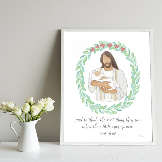 Baby Loss, 6 Hearts, 6 Losses, Miscarriages, Pregnancy Loss, Loss of Babies, Multiples, Loss of Multiples, Face of Jesus Quote, Jesus Baby