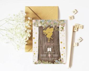 Fairy Birthday, Fairy Invitation, Fairy Party, Fairy Invite, Birthday Invitation, Invitation, Fairy, Printable Invitation, Woodland Fairy