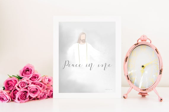 Christ, Peace In Me, Church of Jesus Christ, Relief Society, Young Womens, Visiting Teaching, Latter Day Saints, Jesus Christ Printable, Art