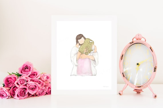 Christ and Child, Printable, Christ Hugging Child, LDS Primary, LDS Baptism, Baptism, Primary, Mormon, Baptism Gift, Baptism Art, LDS Art