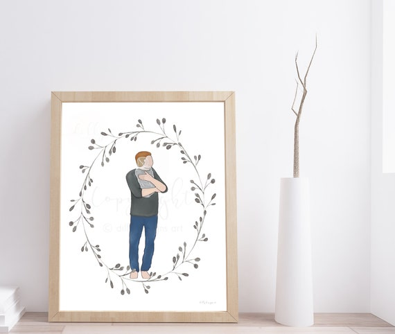 Father's Day Gift, Memorial Gift, Memorial Baby Gift, Baby Memorial Gift, Infant Memorial, Angel Baby Gift, Angel Baby Memorial, Keepsake