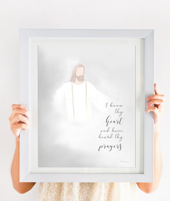 Christ Artwork, Latter Day Saints, Scripture, Christ Printable Art, Young Womens, Young Womens Art, Latter Day Saint, Savior Art, LDS Art