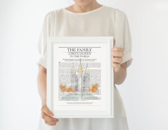 SLC Temple, Family Proclamation, The Family, Proclamation, Salt Lake City, Temple, The Family, The Family Proclamation, SLC, SLC Temple Art